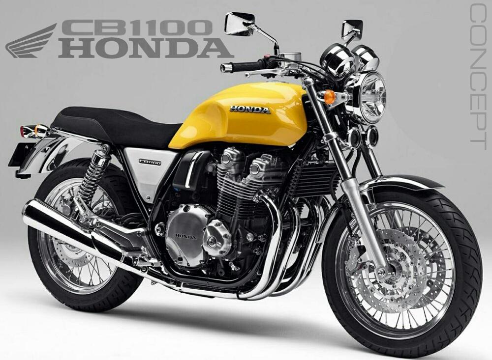 2016 honda cb1100 concept motorcycle pictures honda. Black Bedroom Furniture Sets. Home Design Ideas