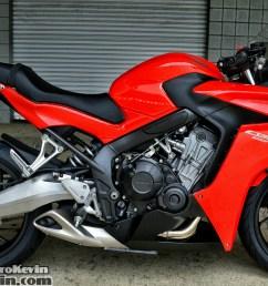 honda cbr650f sport bike motorcycle review specs horsepower  [ 1459 x 871 Pixel ]