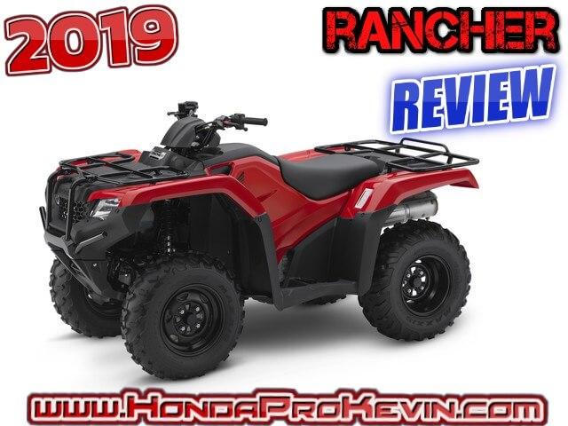 2019 honda rancher 420 2x4 atv review