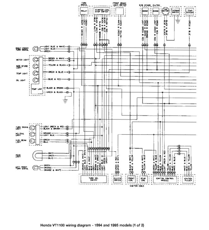 Wiring Manual PDF: 1100 Honda Shadow Wiring Diagram