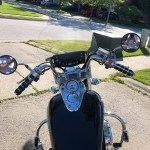 New Handlebars On My Ace Biltwell Chumps Review And Info Honda Shadow Forums