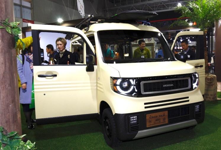 【19TAS】N VAN×サーフトリップの提案、TRIP VANに注目!   Honda Style web