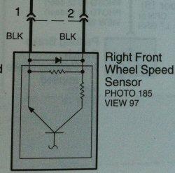 ABS Sensor Wiring