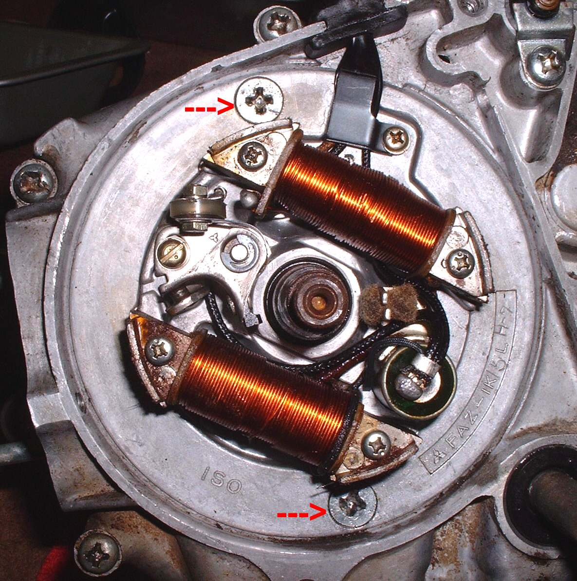 Wire Stator Wiring Diagram On Motorcycle Cdi Ignition Wiring