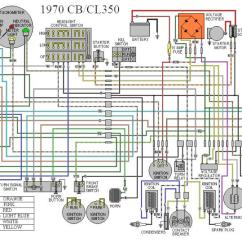 1977 Ct90 Wiring Diagram 2001 Ford Escape Radio Brown And White Wires On A Cb350