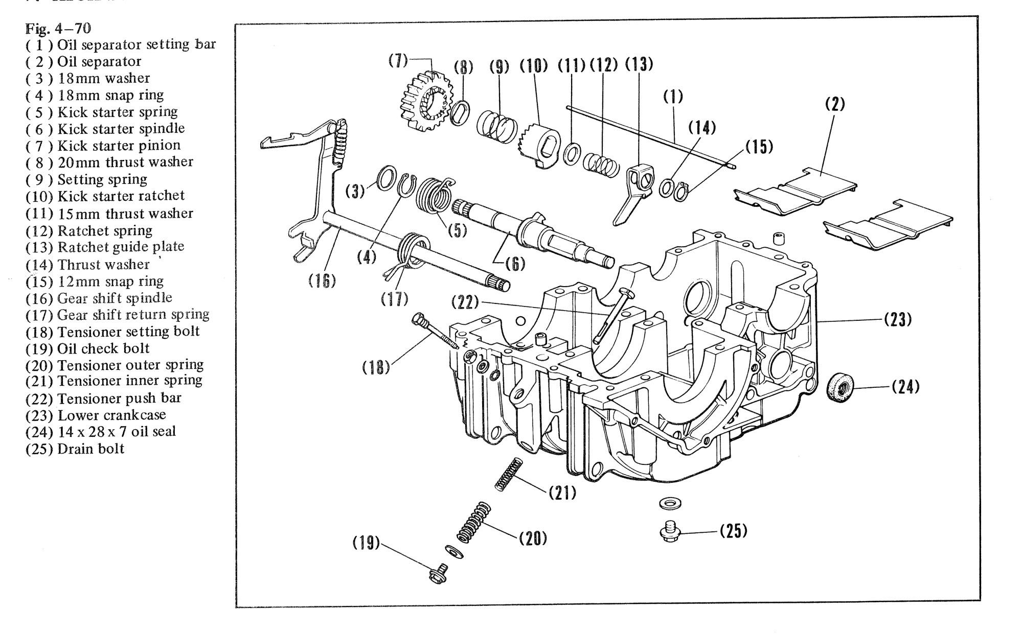 hight resolution of cb360 engine diagram wiring diagram query cb360 engine diagram