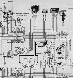 first bike cb200 honda cb cl200 electrical wiring diagram  [ 1650 x 1123 Pixel ]