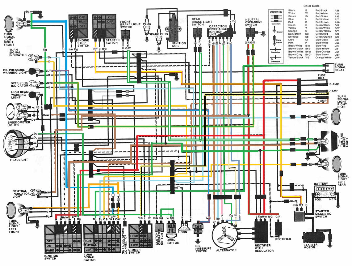 1982 honda goldwing wiring diagram mgb for a cm450 and