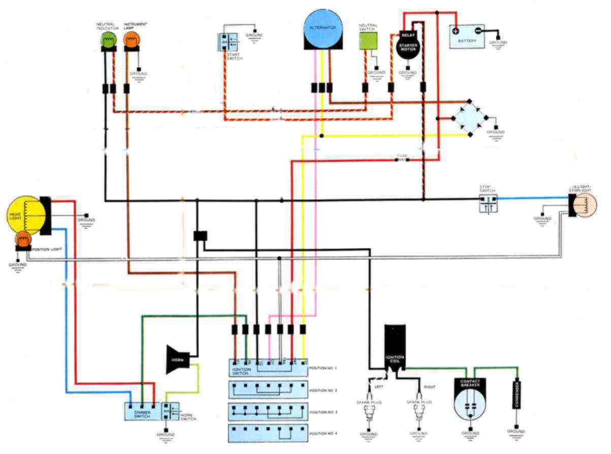 hight resolution of cb 450 wiring schematic schema diagram database honda cb 450 wiring diagram
