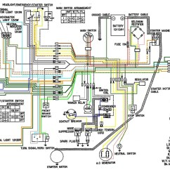 Cb450 Wiring Diagram Draw The Tracing Panel Of An Alternator Color Now Corrected Page 2