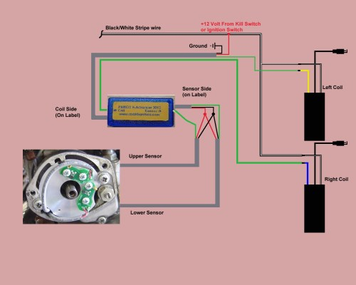 small resolution of honda kill switch wiring diagram wiring libraryhelp with pamco and universal coils pamco cb450 electronic advancer
