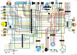 CB360 Wiring diagram