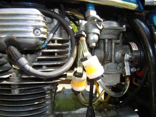 small resolution of does my 1971 cb350k3 have a fuel filter new smaller filters