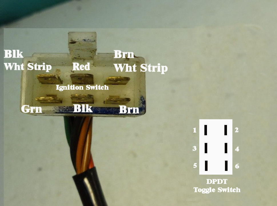 cb450 wiring diagram 7 pin round trailer a toggle switch as the ignition
