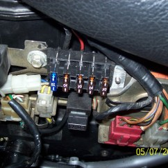 1972 Cb450 Wiring Diagram Diagramming Subjects And Predicates Worksheets Mini-blade (atm) Fuses & Inline Holder Replacing Fuse Block/fuses? - 1978 Cb400t Ii