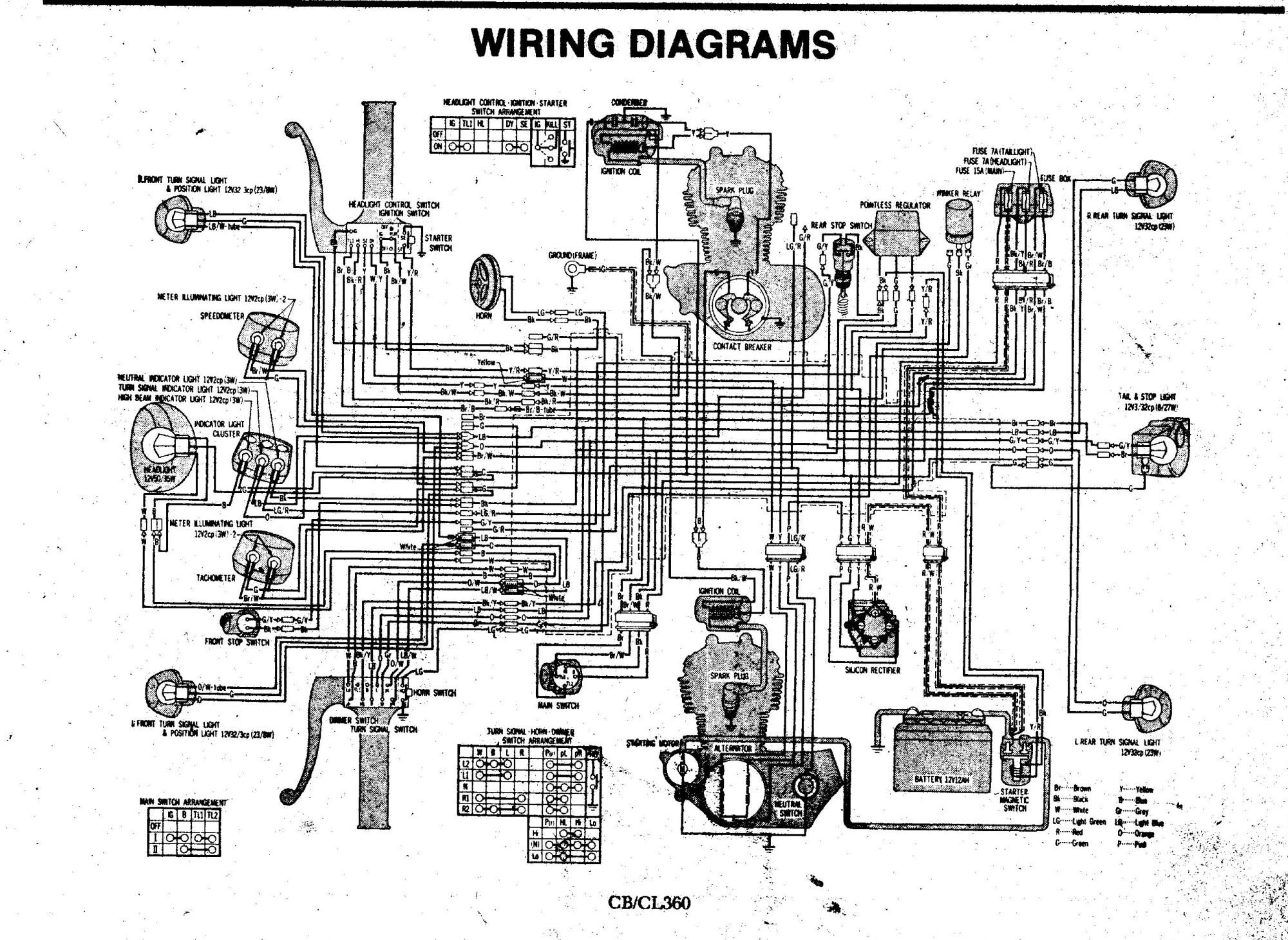 hight resolution of honda cl360 wiring diagram list of schematic circuit diagram u2022 honda cb750 wiring honda cl360
