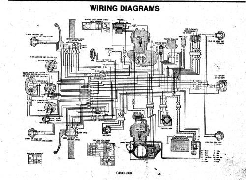 small resolution of honda cl360 wiring diagram list of schematic circuit diagram u2022 honda cb750 wiring honda cl360