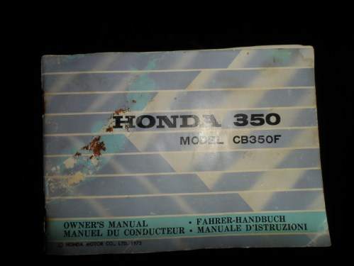small resolution of 1973 honda cb350 four owner s manual in english french german and italian sam 1721