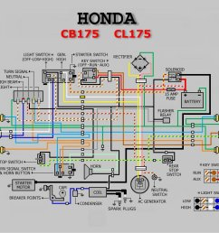 honda cd 175 wiring diagram [ 1024 x 768 Pixel ]