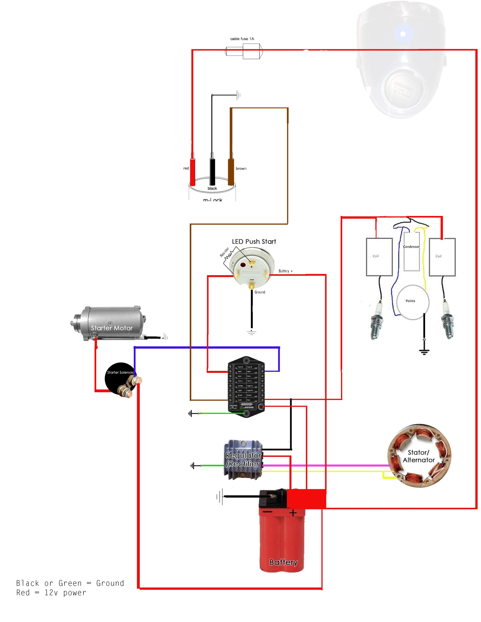 hight resolution of cb350 wiring diagram
