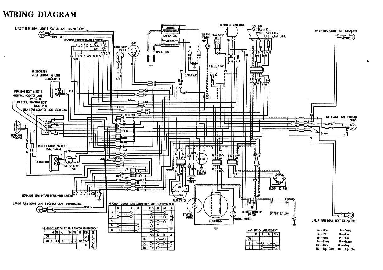 hight resolution of wrg 1907 1975 honda cb360 wiring diagram u002775 cb360t electrical help 1975