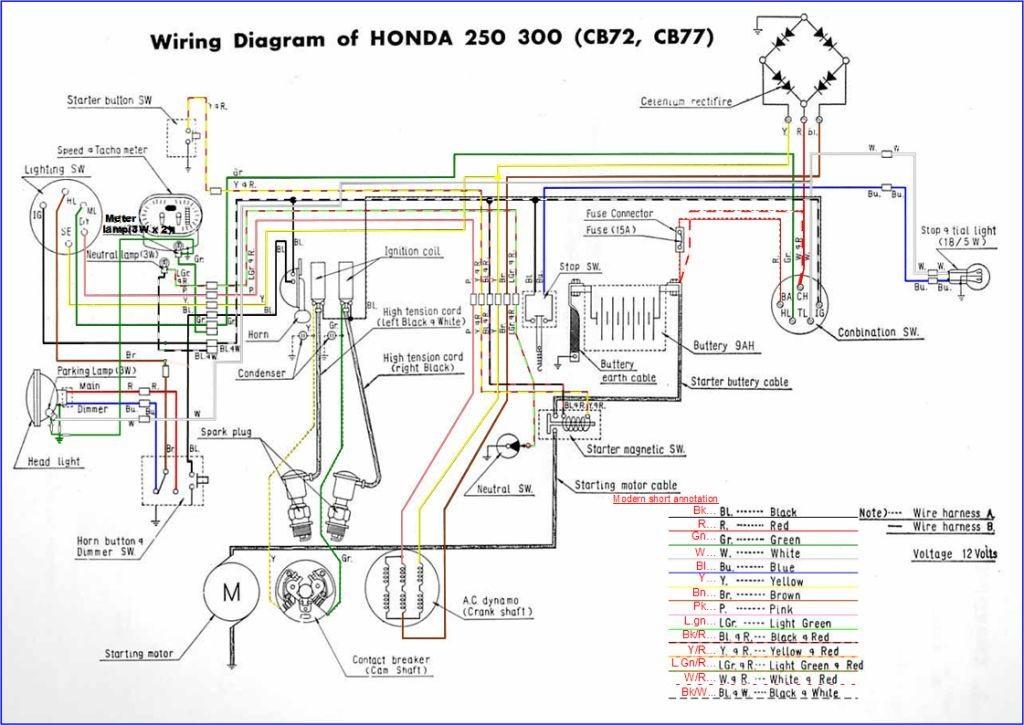 honda gl1200 motorcycle wiring diagrams