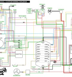 custom wiring diagram for m unit install 73honda350 wiring diagram jpg [ 1200 x 927 Pixel ]