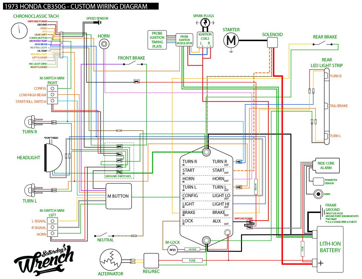 ca77 wiring diagram bookmark about wiring diagram Gl1100 Wiring Diagram