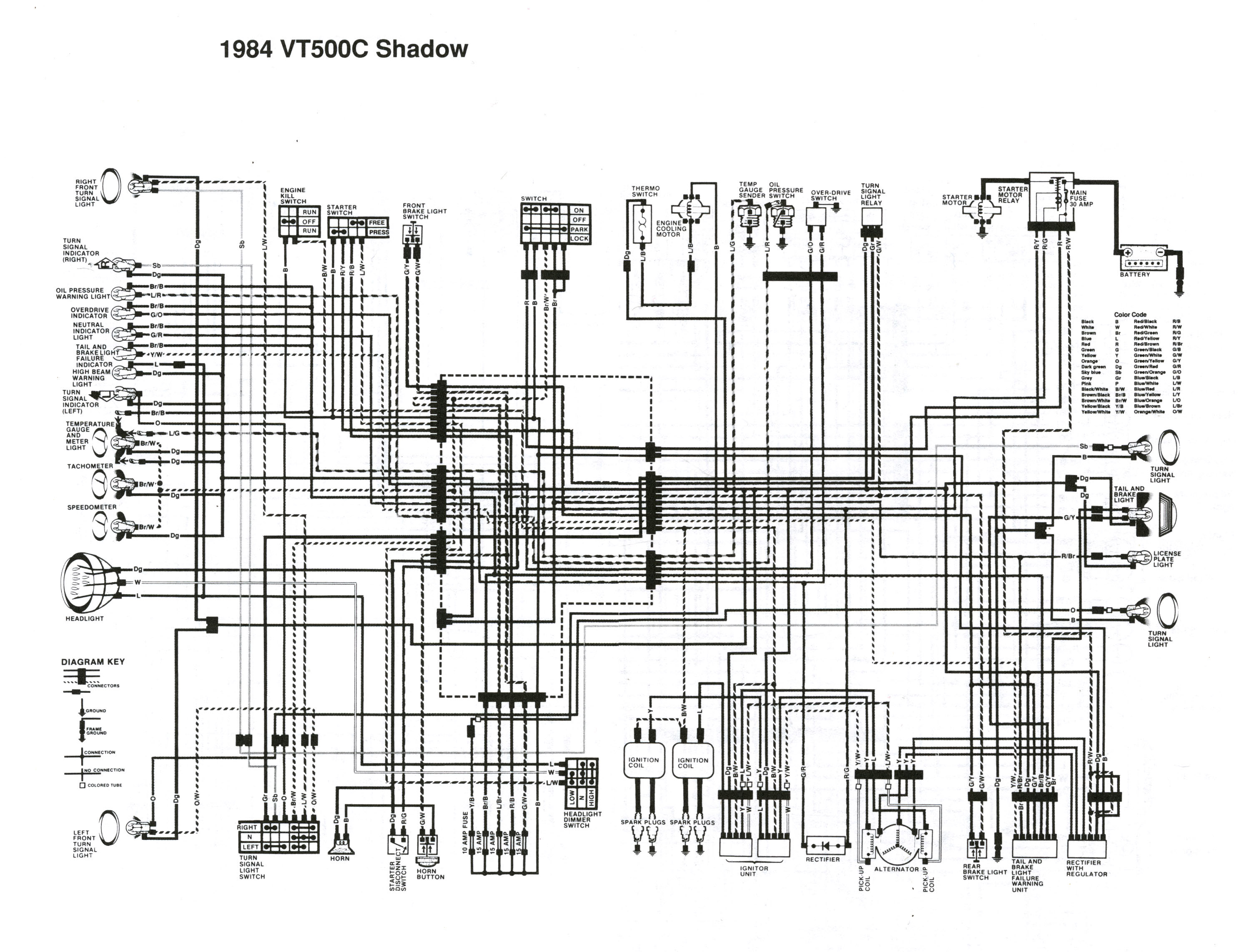 vt500 wiring diagram