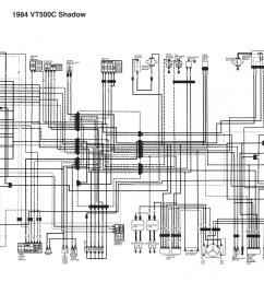 1984 honda shadow 500 wiring diagram [ 2996 x 2284 Pixel ]