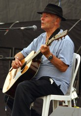 Derek Brimstone, father, folk singer, comedian