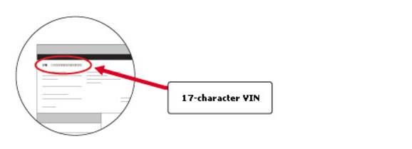 17 character VIN