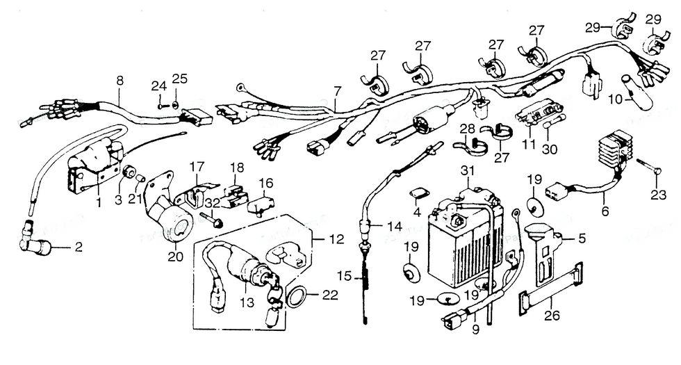 odd ignition coil diagram