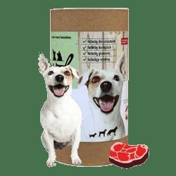 Darf VOL geperste brokken voor honden