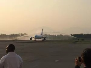 Air Europa nonstop flight from Madrid to San Pedro Sula