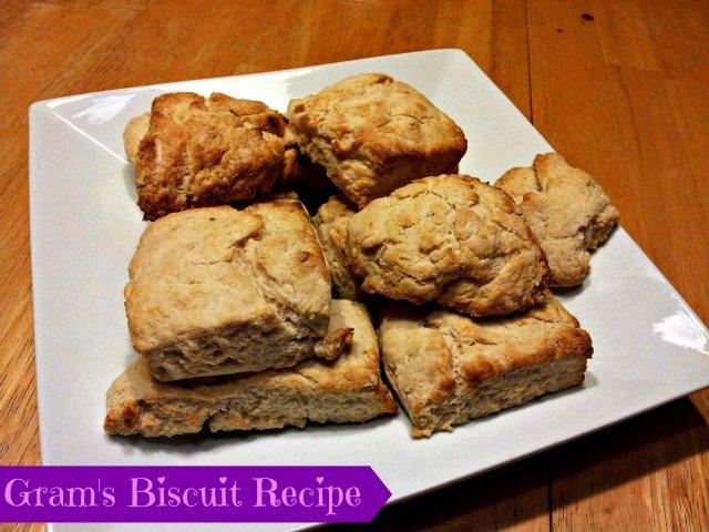 Gram's Biscuits