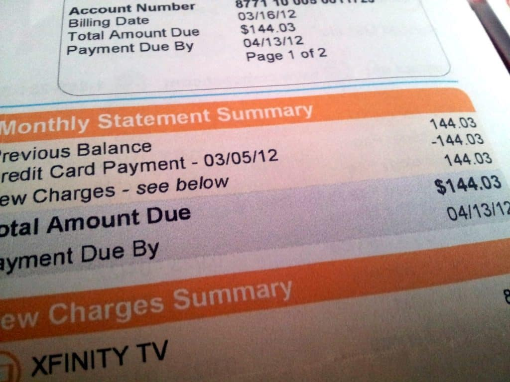 Obnoxiously high cable bill $143 per month