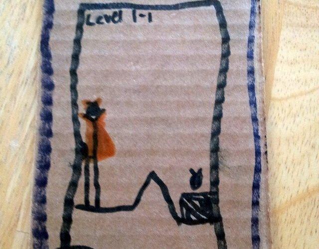 Little Miss's iPad gift