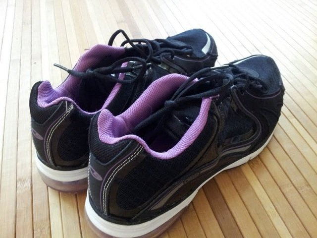 Gym shoes that need to be used