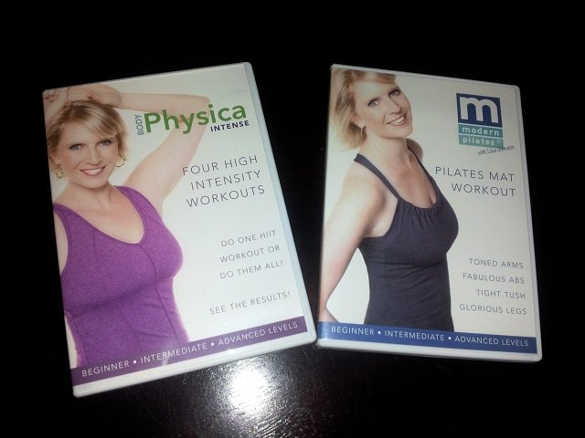 Body Physica Intense DVD Modern Pilates DVD covers