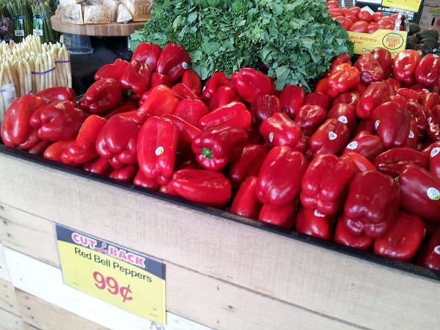 Red Peppers at #MyMarianos