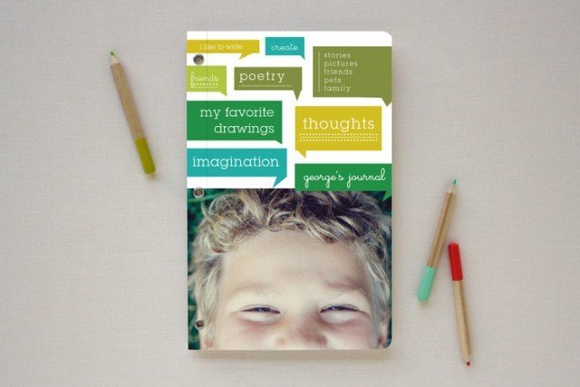 Minted thoughts journal