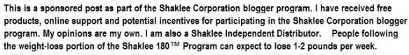 Shaklee Disclosure