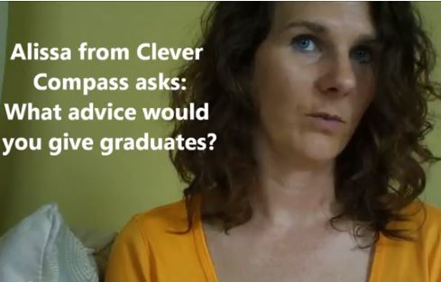VlogMom Advice to graduates
