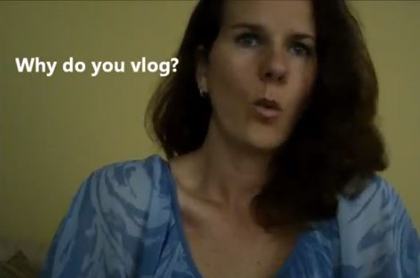 #VlogMom topic of the week - why do you vlog
