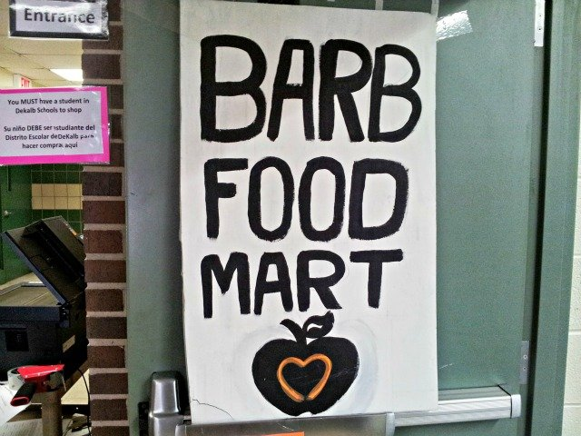 Barb food mart pantry