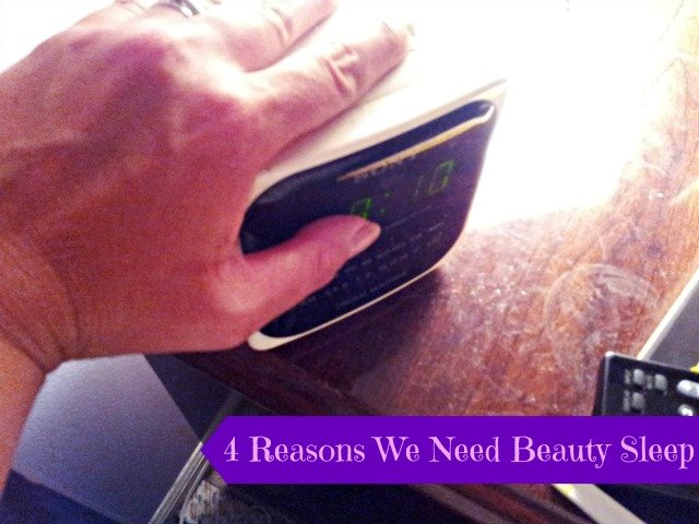 top four reasons we need sleep