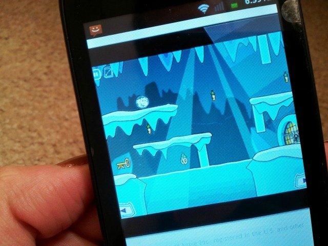 Club penguin access on my phone