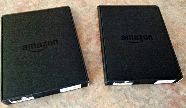 Amazon Kindle Fire in the box