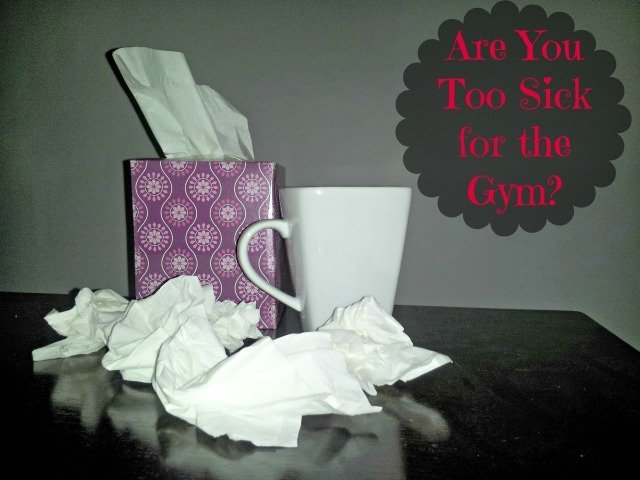Kleenex and Tea for when you're sick